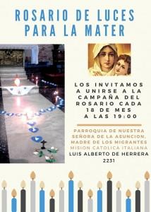 rosario luces campaña poster