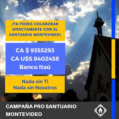 Cuentas para el futuro SANTUARIO DE SCHOENSTATT en  MONTEVIDEO