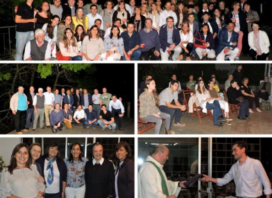 Misa de cierre del año y despedida del P. Pablo Pol