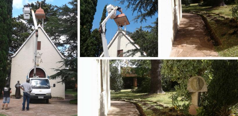 Preparación para los 75 años del Santuario de Nueva Helvecia