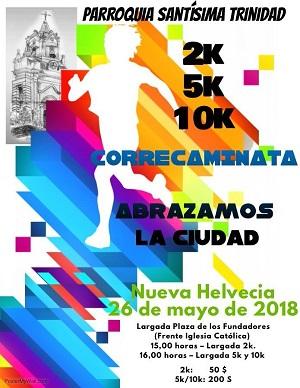 Corre Caminata en Nueva Helvecia – 26 de mayo de 2018