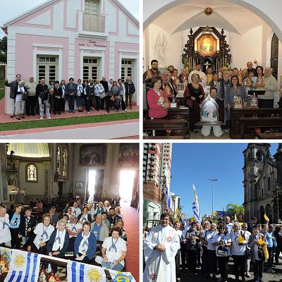 Testimonios de la Peregrinación al Santuario de Santa María en Brasil