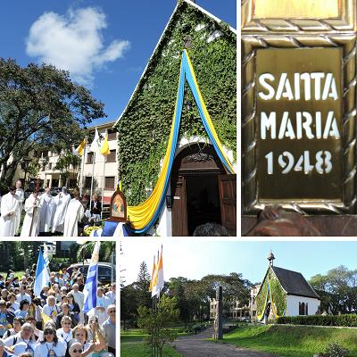 Peregrinación a Santa María – Brasil