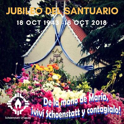 75 aniversario del Primer Santuario Filial de:                  Nueva Helvecia – Uruguay