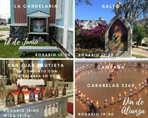 Día de Alianza en Uruguay – 18 de junio – dónde celebramos
