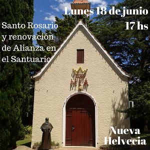 18 de Junio día de Alianza en el Santuario de Nueva Helvecia