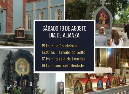 Renovamos nuestra Alianza con María – 18 de agosto de 2018