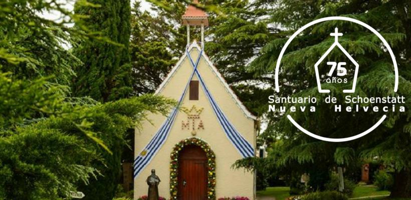 Invitación al Jubileo del primer Santuario Filial – Nueva Helvecia – Uruguay