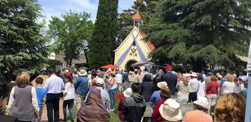 Jubileo del primer Santuario filial de Schoenstatt – Nueva Helvecia – Colonia – Uruguay