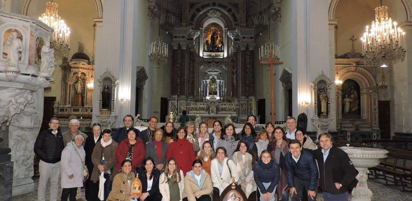 Misa con la Familia de Schoenstatt el 31 de Mayo de 2019 celebrada por el P. Valentín Goldie.